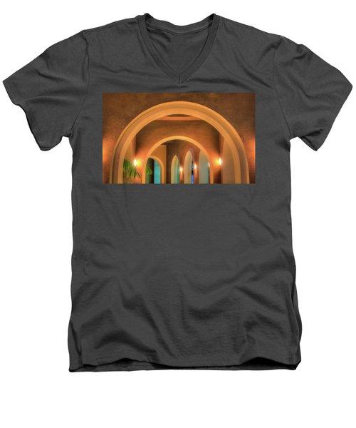 Labyrinthian Arches Men's V-Neck T-Shirt