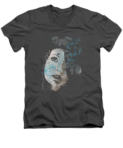 Lack Of Interest Men's V-Neck T-Shirt