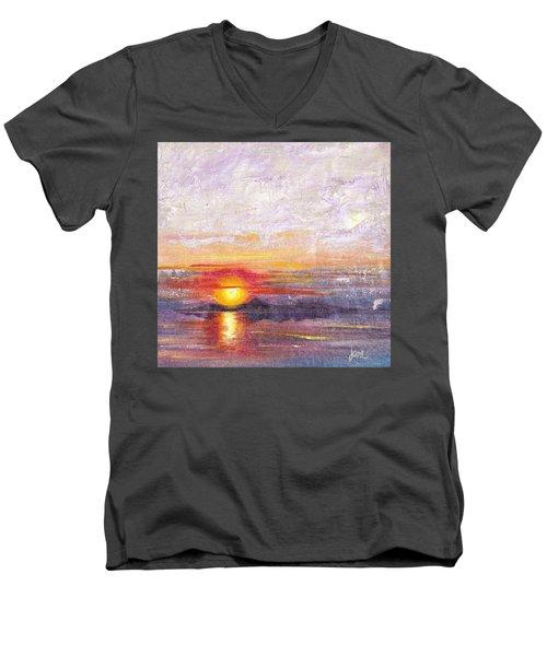 Lacy Men's V-Neck T-Shirt