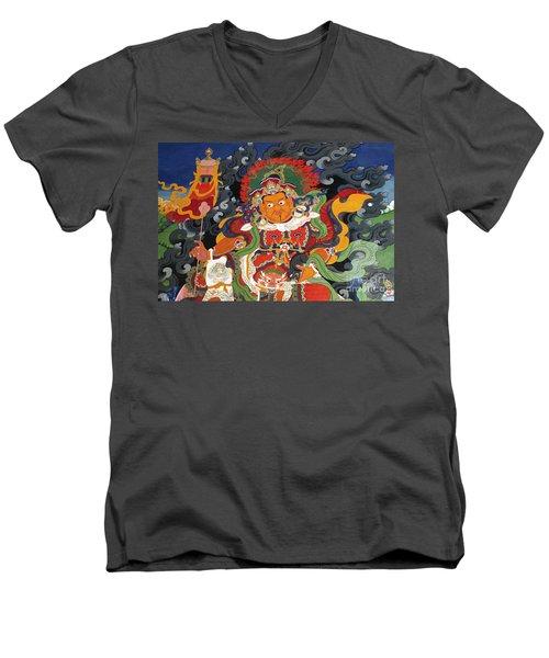 Ladakh_17-15 Men's V-Neck T-Shirt