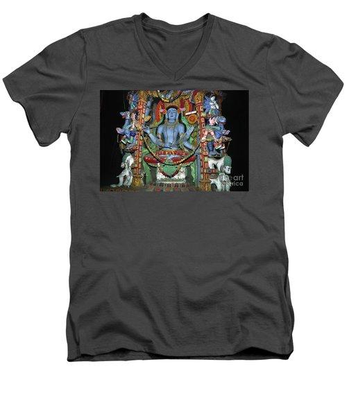 Ladakh_27-5 Men's V-Neck T-Shirt