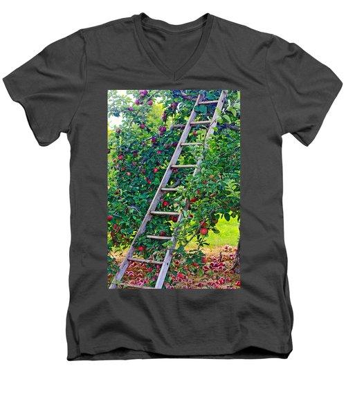 Ladder To The Top Men's V-Neck T-Shirt