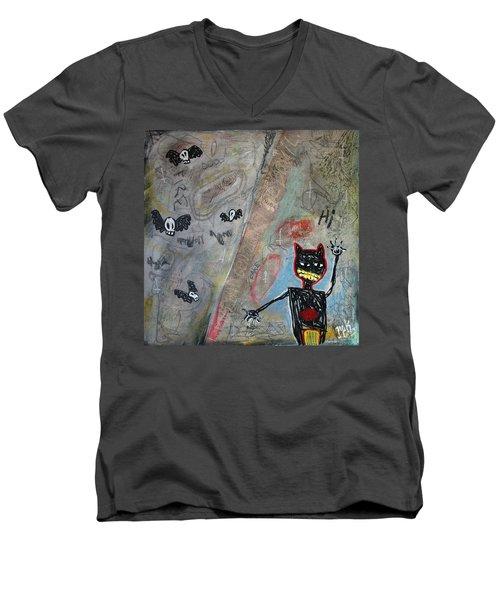 Ladies And Gentlement, The Devil Men's V-Neck T-Shirt