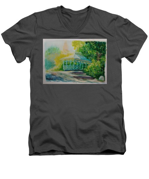 Ladies Pavilion, Cpnyc Men's V-Neck T-Shirt