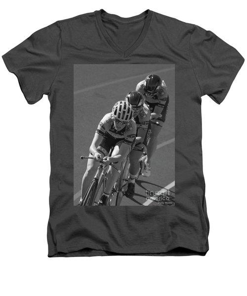 Ladies Pursuit Men's V-Neck T-Shirt