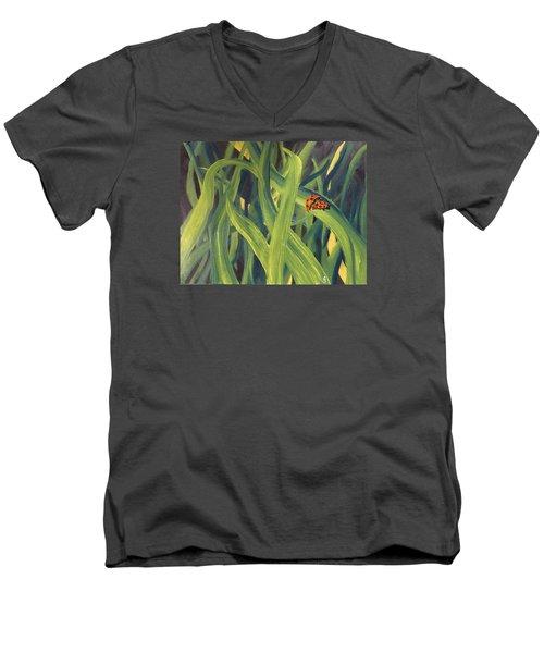 Lady Bugs Men's V-Neck T-Shirt