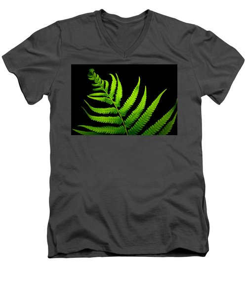 Lady Green Men's V-Neck T-Shirt