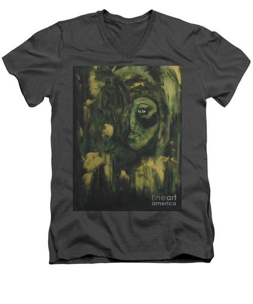 Lady Ivy Men's V-Neck T-Shirt