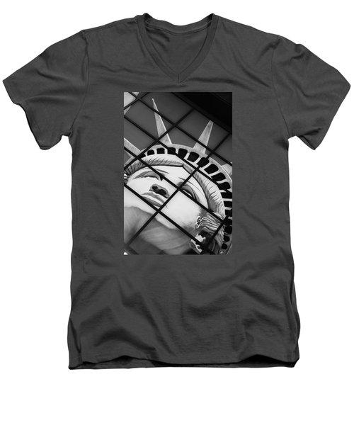 Lady Of The House Men's V-Neck T-Shirt by Bobby Villapando