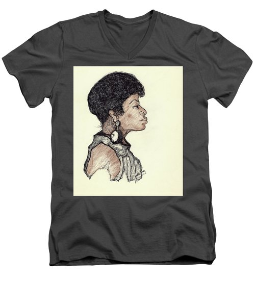 Lady Pride Men's V-Neck T-Shirt