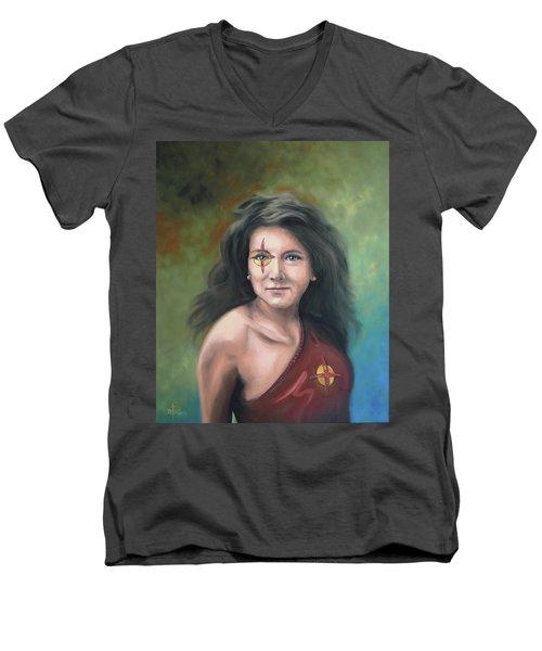 Lady Starr Men's V-Neck T-Shirt
