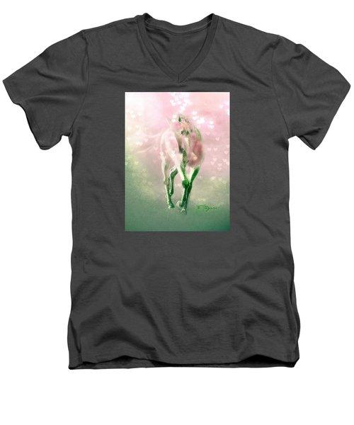 Lady Valentine Men's V-Neck T-Shirt