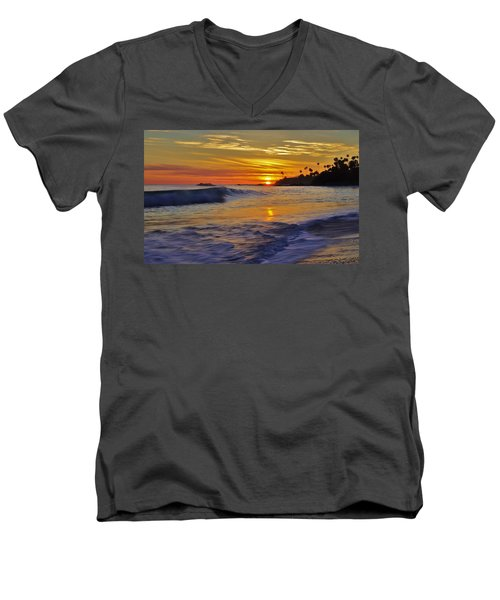 Laguna's Last Light Men's V-Neck T-Shirt