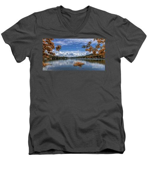 Lake Burton Men's V-Neck T-Shirt