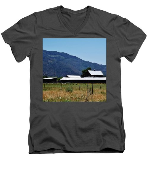 Lake Co 5 Men's V-Neck T-Shirt by Andrew Drozdowicz