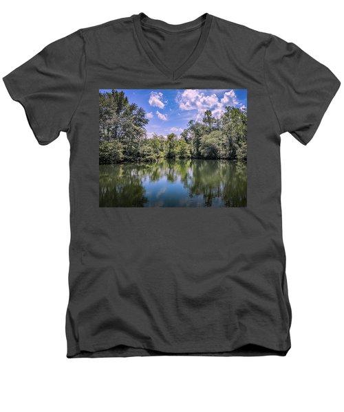 Lake Cove Men's V-Neck T-Shirt