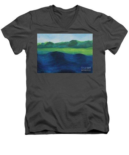 Lake Day Men's V-Neck T-Shirt