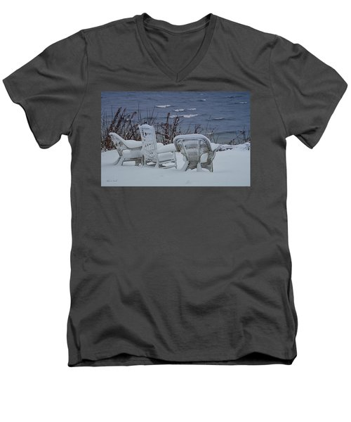 Lake Effect Men's V-Neck T-Shirt
