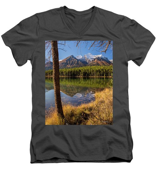 Lake Herbert Reflections Men's V-Neck T-Shirt