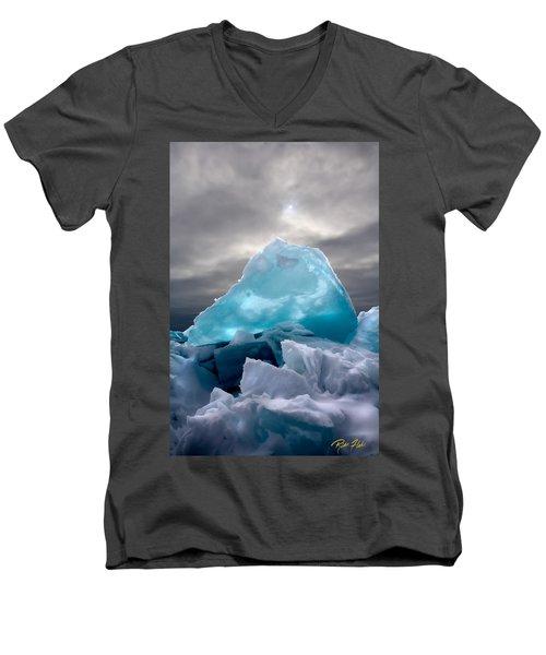 Lake Ice Berg Men's V-Neck T-Shirt
