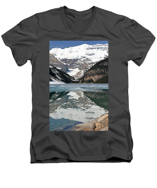 Lake Louise Men's V-Neck T-Shirt