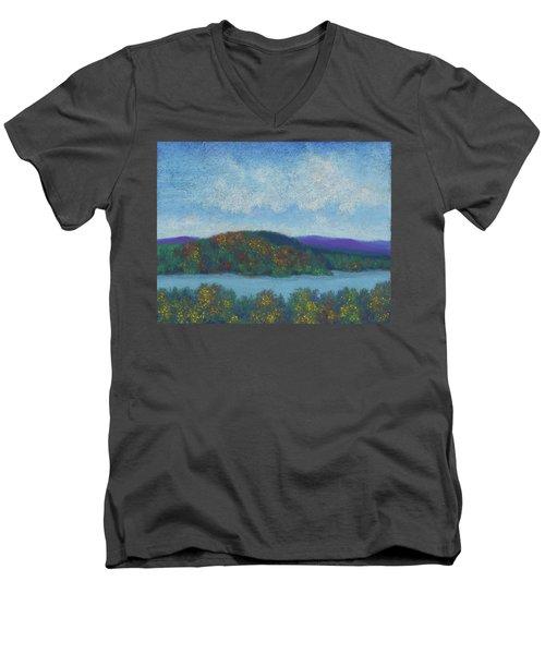 Lake Mahkeenac Men's V-Neck T-Shirt