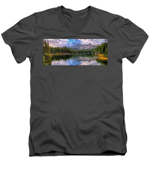 Lake Mamie Panorama Men's V-Neck T-Shirt
