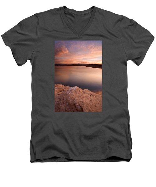 Lake Powell Dawn Men's V-Neck T-Shirt