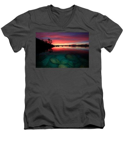 Lake Tahoe Jewels Men's V-Neck T-Shirt