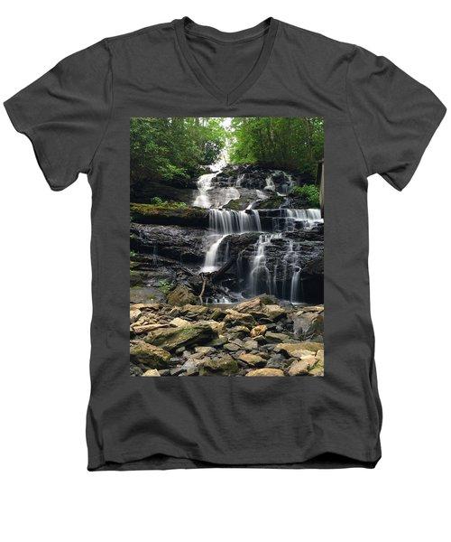 Lake Trahlyta Falls Men's V-Neck T-Shirt