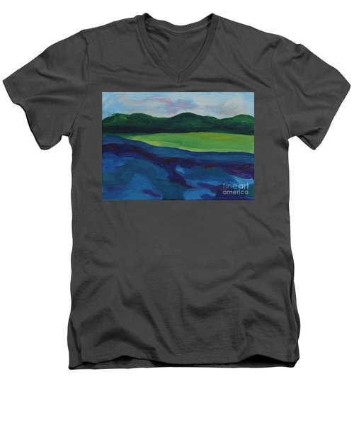 Lake Visit Men's V-Neck T-Shirt