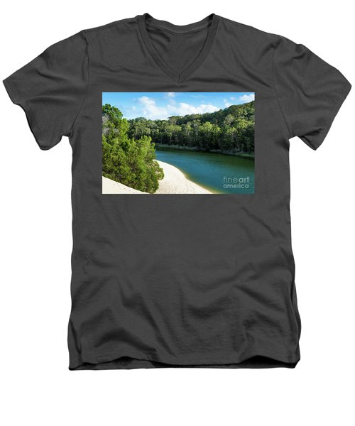 Lake Wabby Men's V-Neck T-Shirt