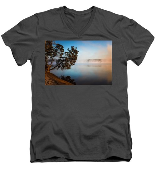 Lake Wateree Men's V-Neck T-Shirt