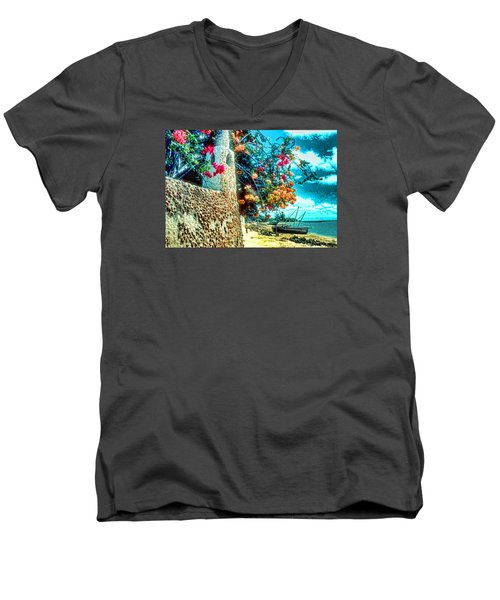 Lamu Beach Men's V-Neck T-Shirt