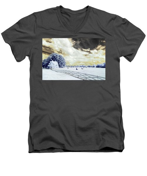 Lancaster Farm In Ir Men's V-Neck T-Shirt