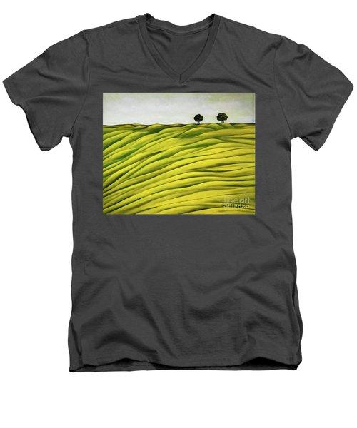 Land Of Breather Men's V-Neck T-Shirt