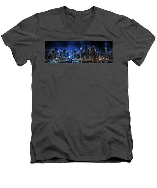 Land Of Tall Buildings Men's V-Neck T-Shirt