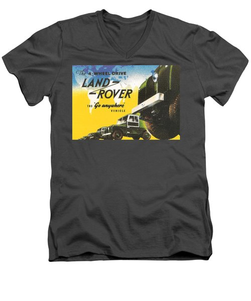 Land Rover Men's V-Neck T-Shirt