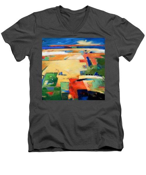 Landforms, You've Never Been Here Men's V-Neck T-Shirt