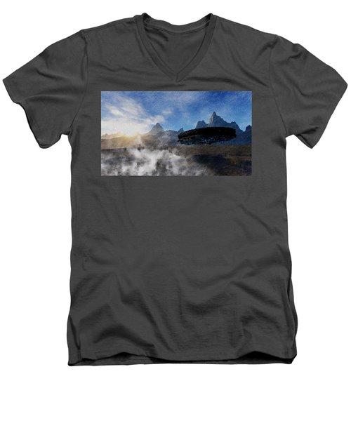 Landing Site Men's V-Neck T-Shirt