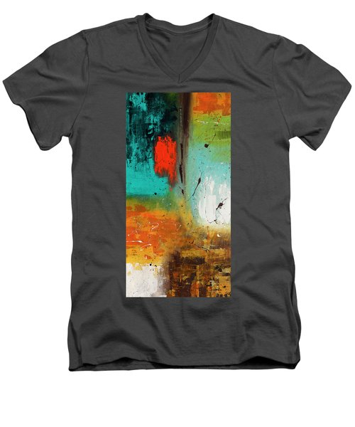 Landmarks Men's V-Neck T-Shirt
