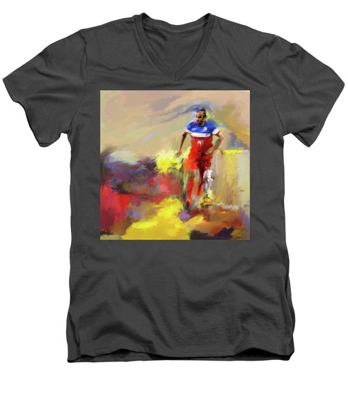 Landon Donovan 545 1 Men's V-Neck T-Shirt