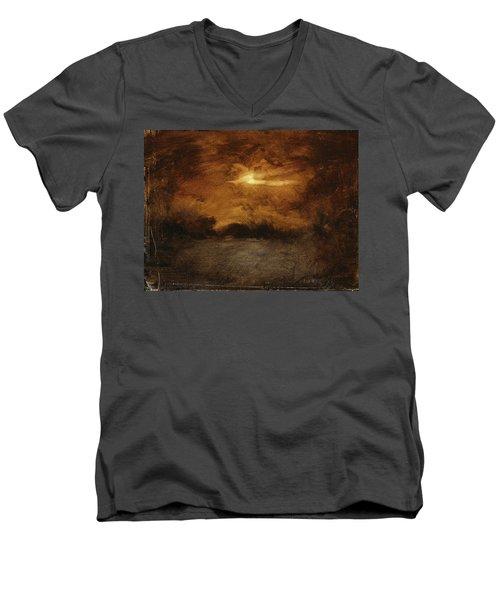 Landscape 42 Men's V-Neck T-Shirt