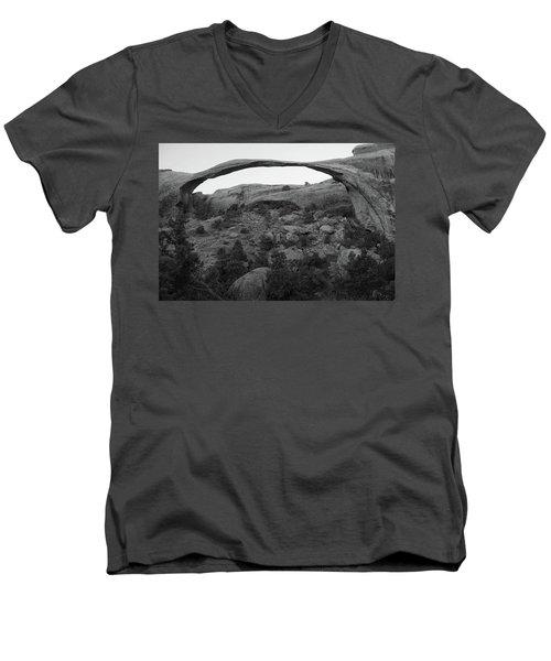 Landscape Arch Men's V-Neck T-Shirt