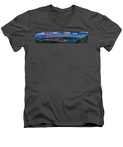 Landscapespanoramas007 Men's V-Neck T-Shirt
