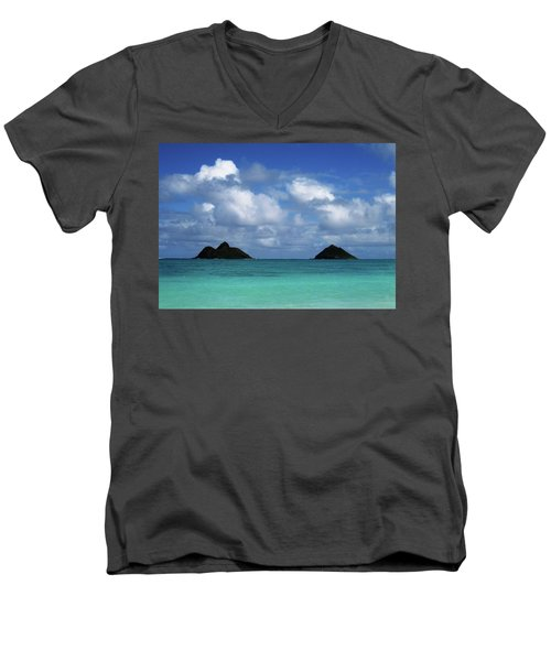 Lanikai Men's V-Neck T-Shirt