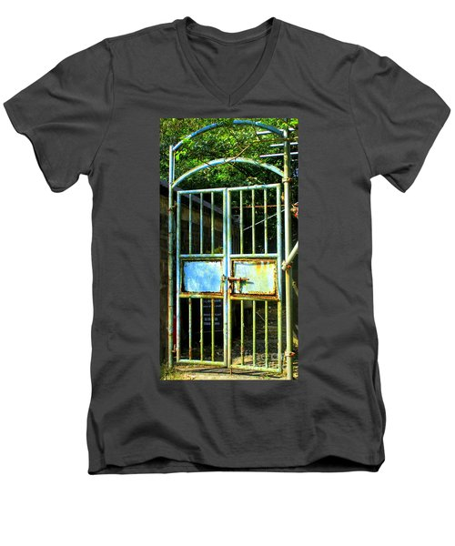 Men's V-Neck T-Shirt featuring the photograph Lantau Island 48 by Randall Weidner