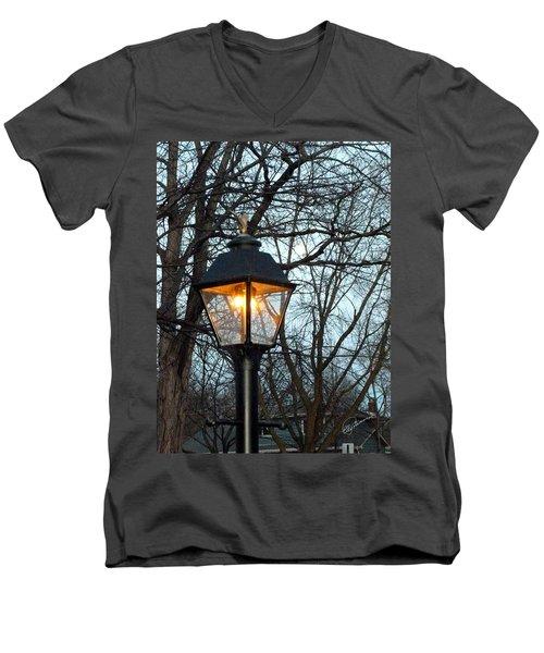 Lantern Men's V-Neck T-Shirt