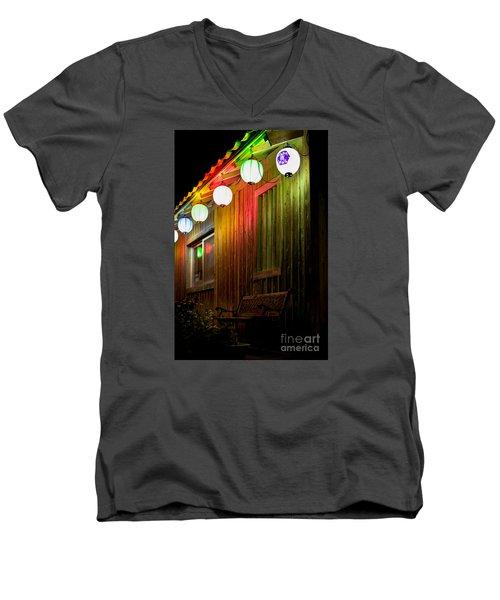 Lanterns Light The Bench Men's V-Neck T-Shirt