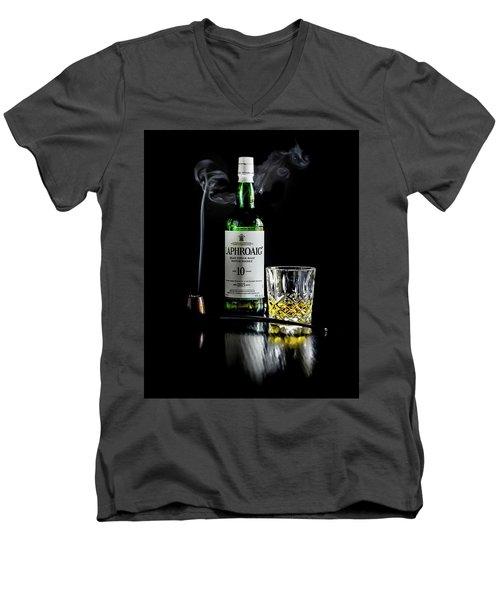 Whiskey And Smoke Men's V-Neck T-Shirt
